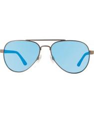 Revo Re1011 forteller Gunmetal - blått vann polarisert solbriller