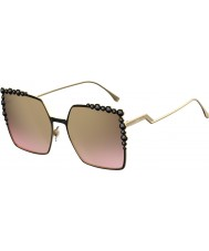 Fendi Ladies ff 0259-s 2o5 53 solbriller