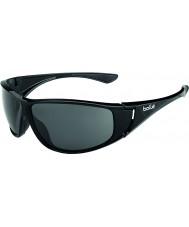 Bolle High skinnende svart polarisert TNS solbriller