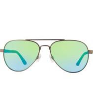 Revo Re1011 forteller Gunmetal - grønne vann polarisert solbriller