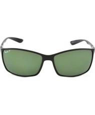 RayBan Rb4179 62 liteforce matt sort 601s9a polariserte solbriller