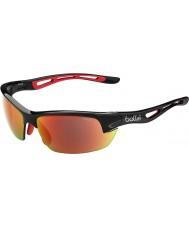 Bolle Bolt s matt svart TNS brann solbriller
