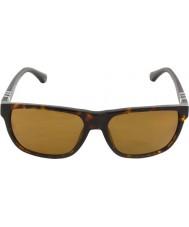 Emporio Armani Ea4035 58 moderne mørk havana 502683 polariserte solbriller