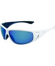 Bolle High skinnende hvite blå polarisert offshore blå solbriller