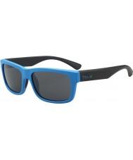 Bolle Daemon jr. matt blå svart TNS solbriller