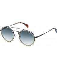Tommy Hilfiger Th 1455-s bqz 08 matte blå solbriller