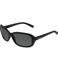Bolle Molly skinnende svart polarisert TNS solbriller