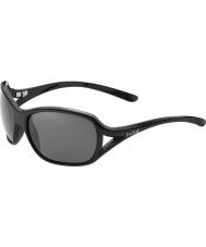 Bolle Solden skinnende svart polarisert TNS solbriller