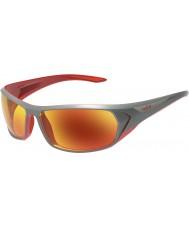 Bolle Blacktail skinnende antrasitt rød tns brann solbriller