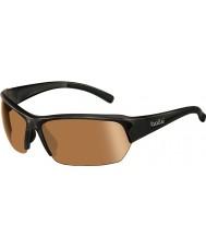 Bolle Ransom skinnende svart modulator v3 golf solbriller