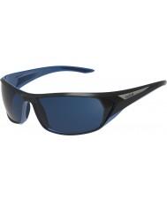 Bolle Blacktail skinnende svart blå polarisert offshore blå solbriller