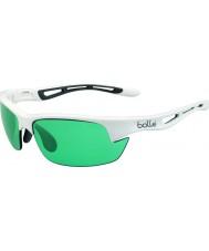 Bolle Bolt s skinnende hvit competivision pistol tennis solbriller