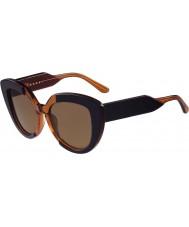 Marni Ladies me601s blå og oransje solbriller