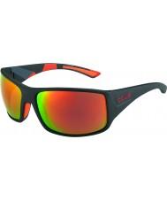 Bolle Tigersnake matt svart camo polarisert tns brann solbriller
