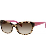 Kate Spade New York Ladies Johanna-Koreas RYP Y6 havana rosa solbriller
