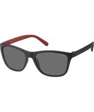 Polaroid Mens pld3011-Koreas llq y2 svart rød polariserte solbriller