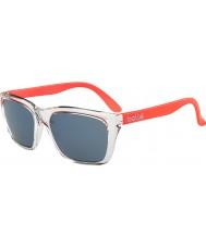 Bolle 527 retro samling skinnende krystall oransje gb-10 solbriller