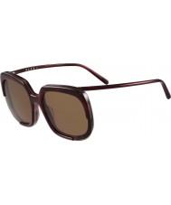 Marni Ladies me608s bordeaux og Havana solbriller