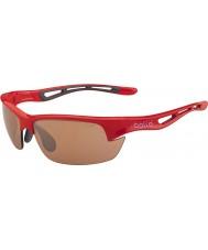 Bolle Bolt s skinnende rød modulator v3 golf solbriller