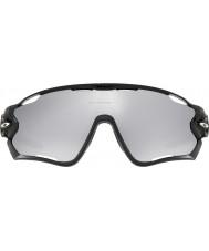 Oakley Oo9290-19 jawbreaker polert svart - krom iridium ventilerte solbriller