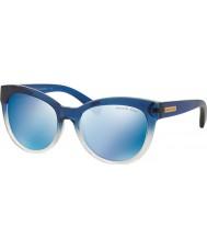 Michael Kors Mk6035 53 mitzi I blå skygge 312255 blå speil solbriller