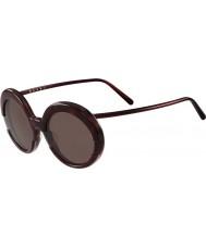 Marni Ladies me609s bordeaux og Havana solbriller