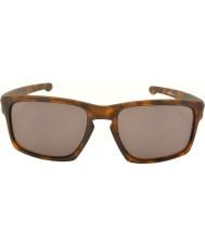 Oakley Oo9262-03 sliver matt brun skilpaddeskall - varm grå solbriller