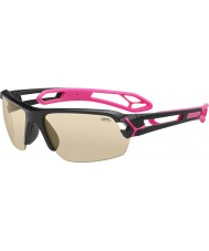 Cebe S-track medium skinnende svart magenta solbriller