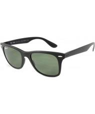 RayBan Rb4195 52 wayfarer liteforce matt sort 601s9a polariserte solbriller