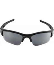 Oakley 03-915 antiluftskyts jakke XLJ jet svart - Black Iridium solbriller