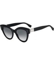 Fendi Ladies ff0266 s 807 9o 52 peekaboo solbriller