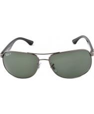 RayBan Rb3502 61 highstreet gunmetal 004-58 polariserte solbriller