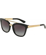 Dolce and Gabbana Dg4269 54 sorte 501-8g solbriller