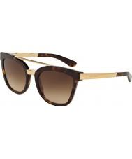 Dolce and Gabbana Dg4269 54 havana 502-13 solbriller