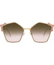 Fendi Ladies ff0261 s 0 53 57 kan øyesolbriller