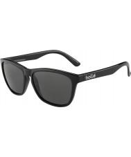 Bolle 437 retro samling skinnende svart polarisert TNS solbriller