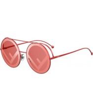 Fendi Ladies ff0285 s c9a 0l 63 løpe vekk solbriller