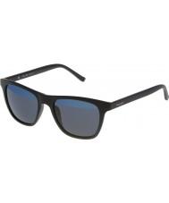Police Mens hot en s1936v-u28b matt sort speil blå solbriller