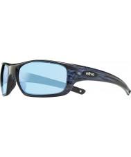 Revo Re4073 guide ii navy trestruktureffekter - blått vann polarisert solbriller