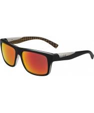 Bolle Clint matt svart oransje polarisert tns brann solbriller