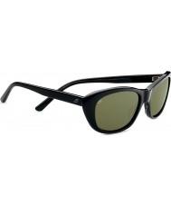 Serengeti Bagheria svart grå skilpaddeskall polarisert 555nm solbriller