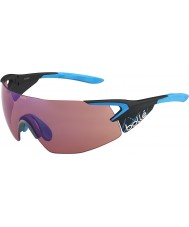 Bolle Femte element pro matt karbon blå rose-blå solbriller