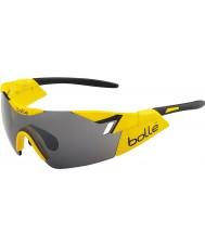 Bolle Sjette sans skinnende gul svart TNS pistol solbriller