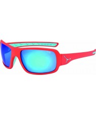 Cebe Changpa matt rosa 1500 grå flash speil blå solbriller
