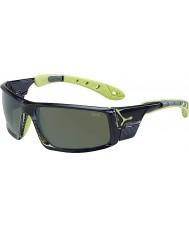 Cebe Ice 8000 gjennomskinnelig grå anis polariserte solbriller