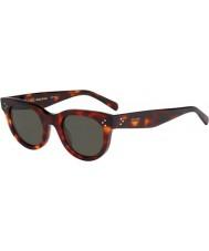 Celine Ladies cl 41053-s 05D 1e grønne skilpaddeskjell, solbriller