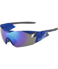 Bolle Sjette sans s matt marineblå blå-fiolett solbriller