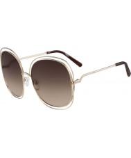 Chloe Ladies ce126s rose gull og brune solbriller
