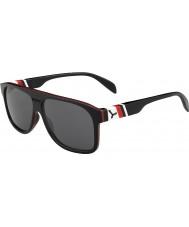 Cebe Chicago svart rød 1500 grå flash speil solbriller