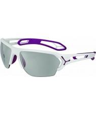 Cebe Cbstl14 s-spor l hvite solbriller
